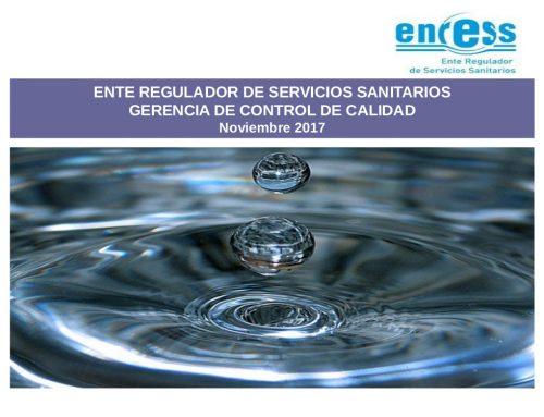 Estado de situación del servicio de agua potable en la provincia de SANTA FE