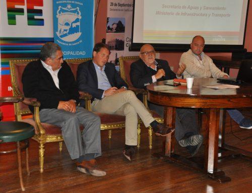 El ENRESS se reunió con prestadores  del servicio sanitario en Casilda