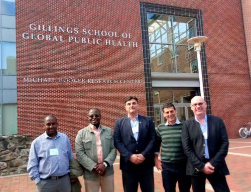 Pintos disertó en la Universidad de Carolina del Norte EEUU