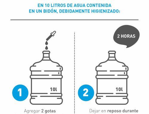 Desinfección de agua de pozo