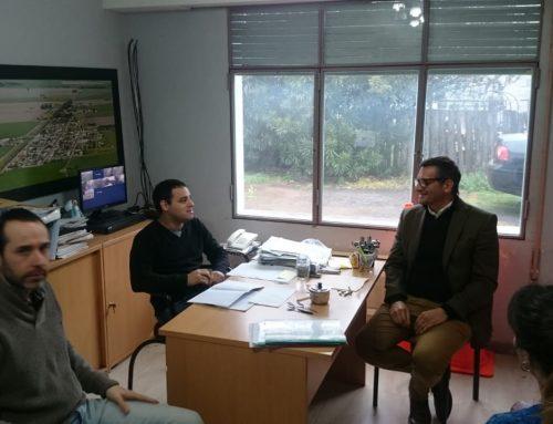 Bertoglio visitó la Comuna de Uranga