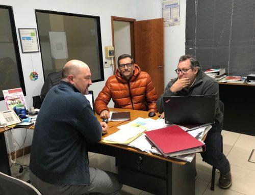 Bertoglio visitó la Cooperativa Agua Potable de Sunchales