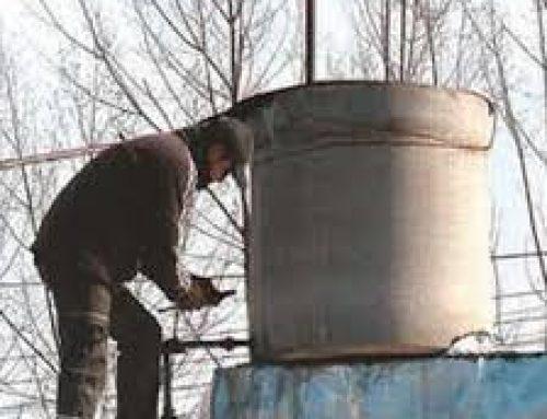 Mantenimiento, limpieza y desinfección de tanques domiciliarios de agua