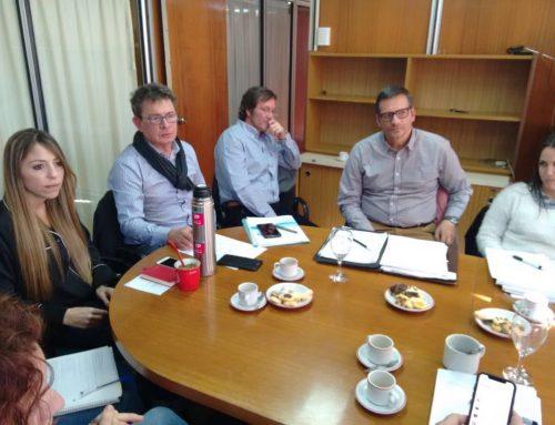 Reunión entre ASSA y el ENRESS