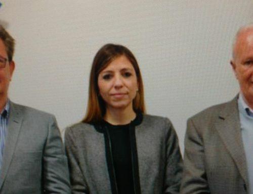 Autoridades del ENRESS en la Defensoría del Pueblo
