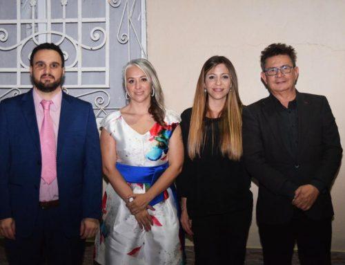 Autoridades del ENRESS en el 40° Aniversario de FESCOE