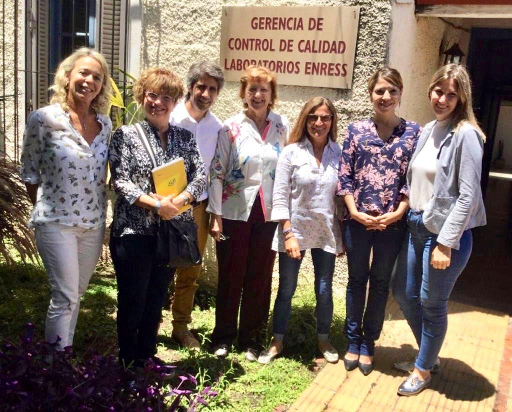 El ENRESS recibe al Decano de la Facultad de Ciencias Veterinarias de UNR y su equipo de trabajo